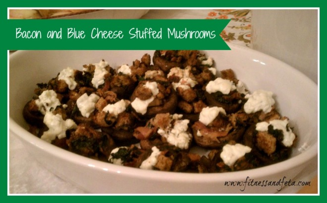 bacon and blue cheese stuffed mushrooms