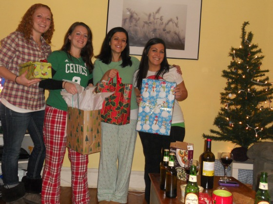 Christmas Dinner - Roommate Secret Santa