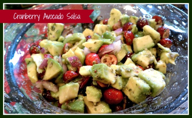 Cranberry Avocado Salsa