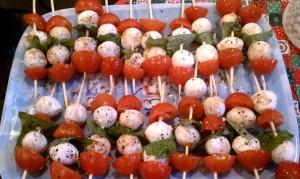 Tomato Basil Skewers