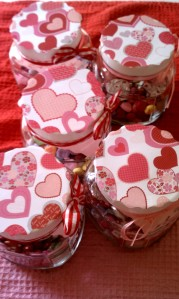Diy Valentine S Day Gift Candy Jars Achieve With Athena