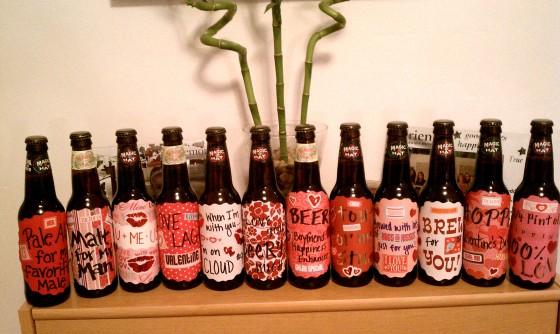 DIY Customized Beer Bottles