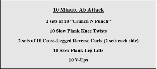 10 Minute Ab Attack