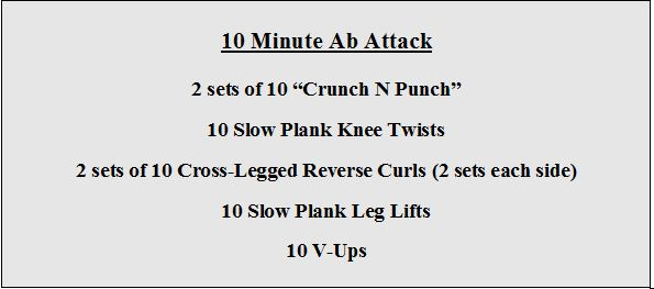 10 Minute Ab Attack
