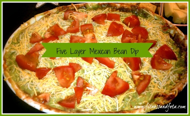 Five Layer Mexican Bean Dip