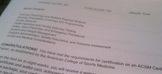 acsm certified personal trainer q&a | fitness & feta