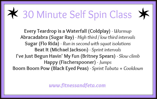 30 Minute Self Spin