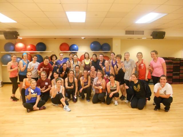 Oak Square YMCA Kickboxing Class - Cinco De Mayo
