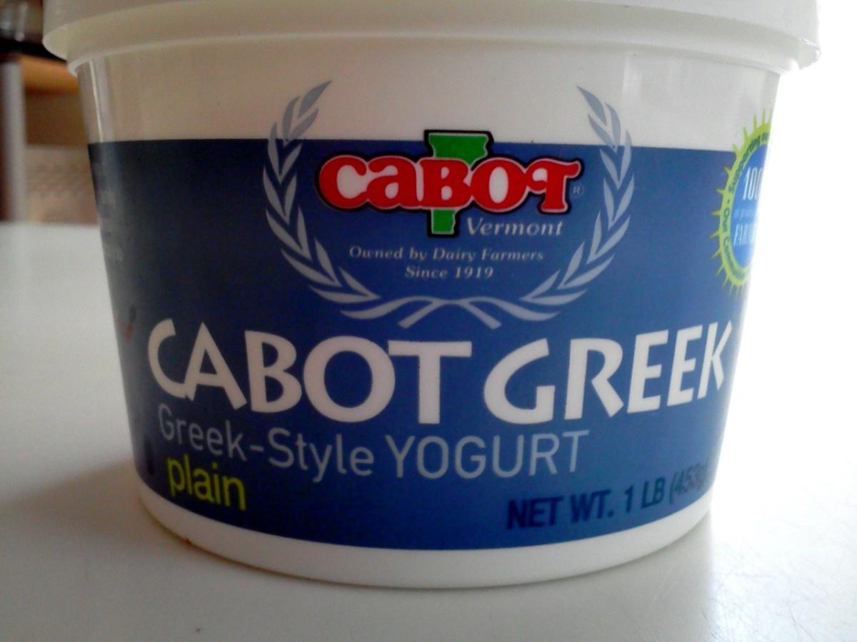 Cabot Yogurt