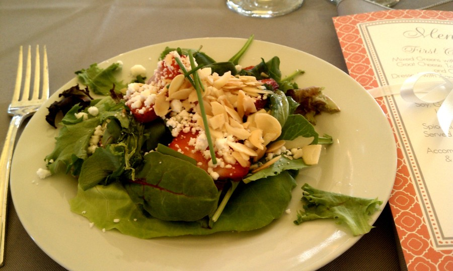 Steph & Brett's Wedding:  Salad