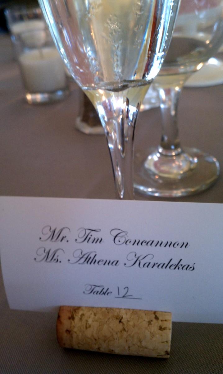 Steph & Brett's Wedding:  Table 12