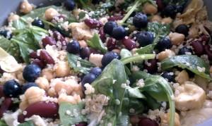 Quinoa Salad with Yogurt Vinaigrette