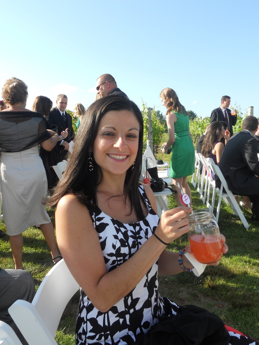 Steph & Brett's Wedding:  Strawberry Basil Lemonade