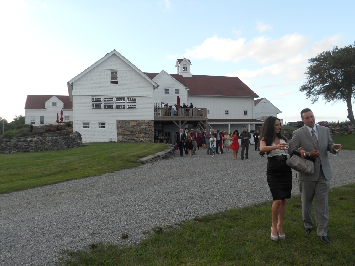 Steph & Brett's Wedding:  Winery