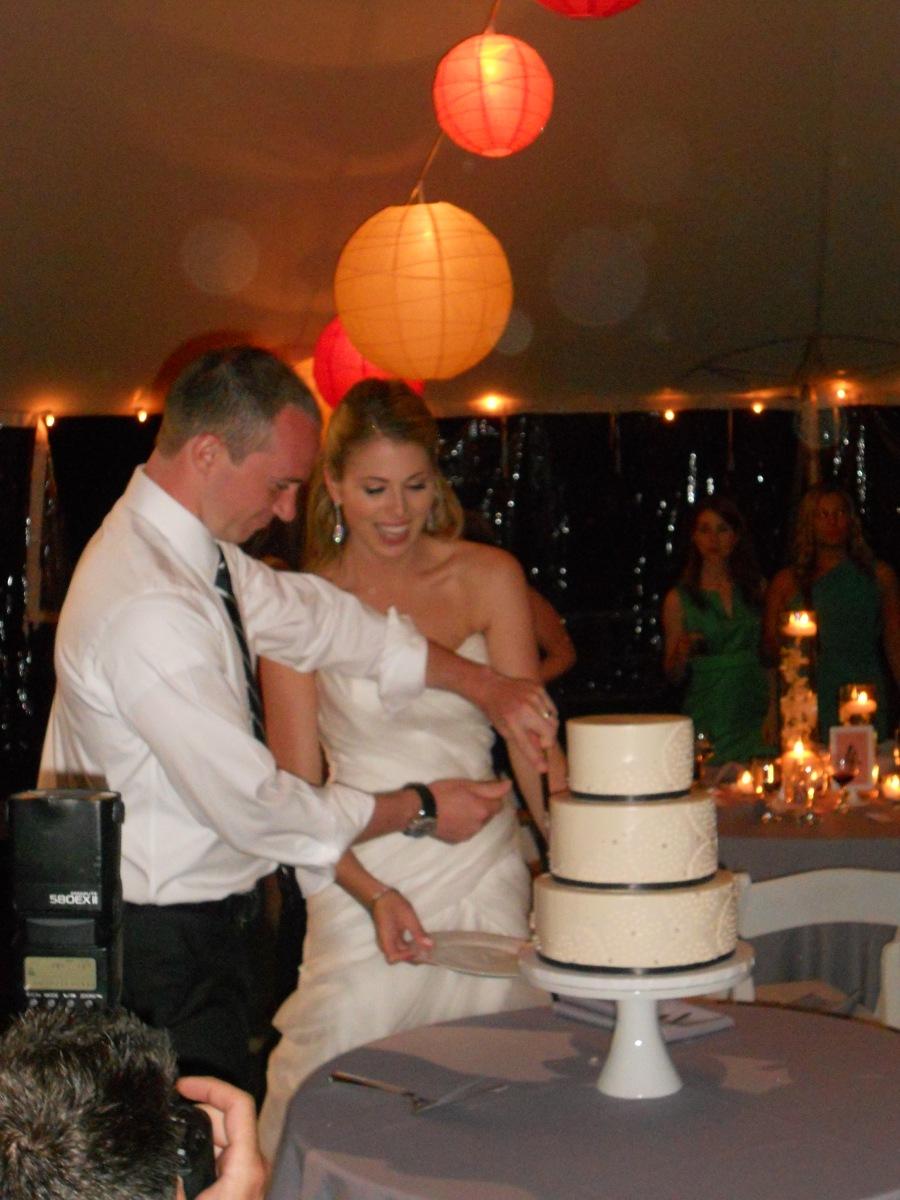 Steph & Brett's Wedding:  Cake