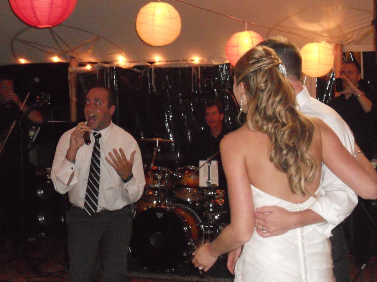 Steph & Brett's Wedding:  Serenade