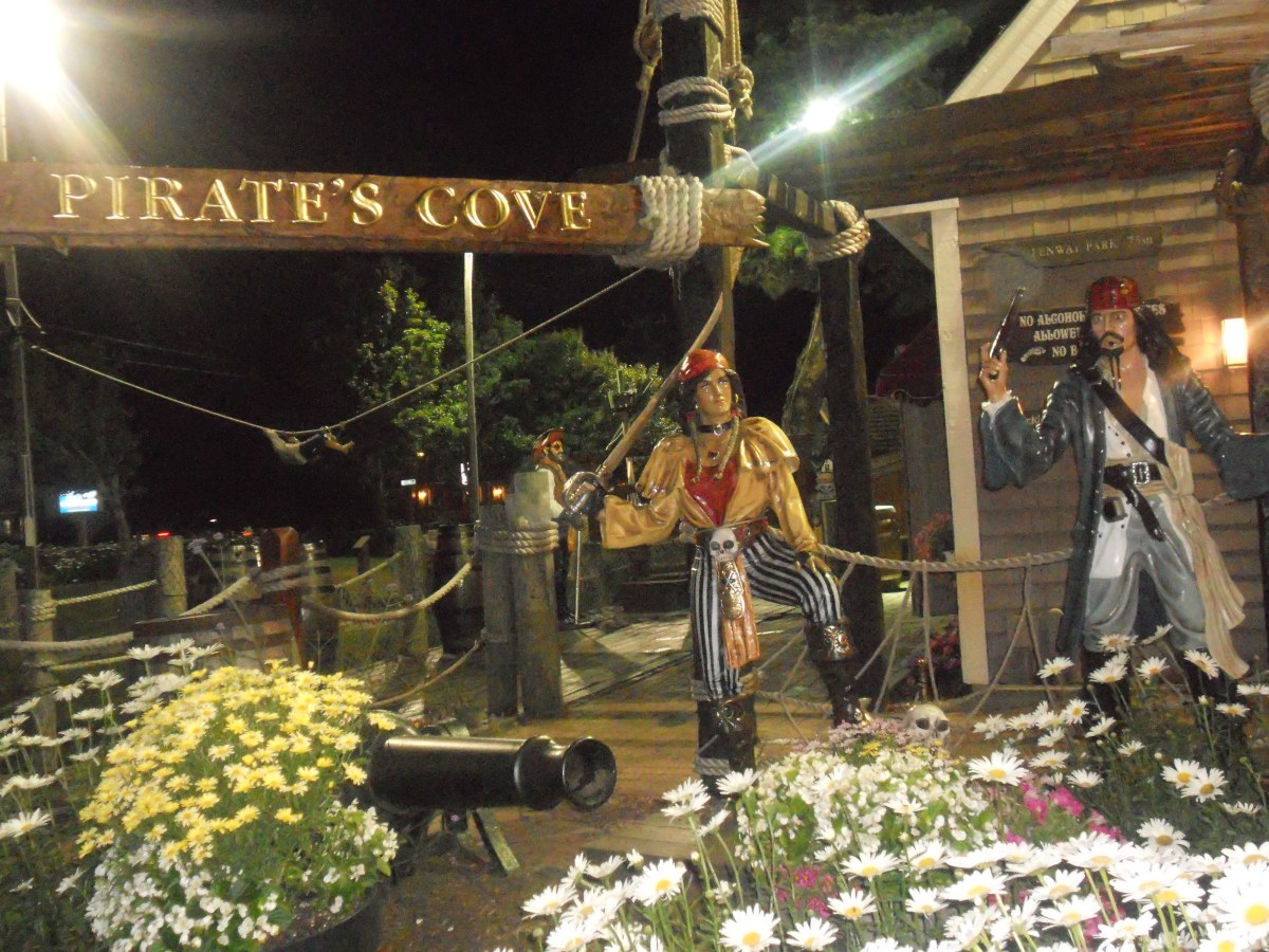 Cape Cod Vacation 2012:  Pirate's Cove