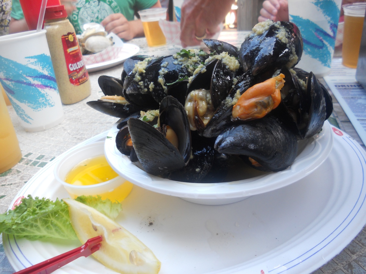 Cape Cod Vacation 2012:  Mussels