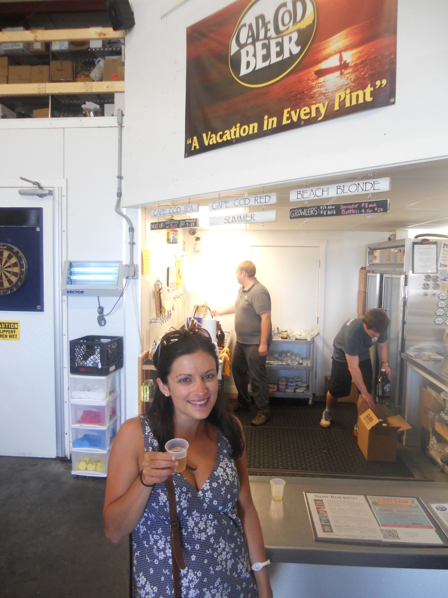 Cape Cod Vacation 2012:  Cape Cod Brewery