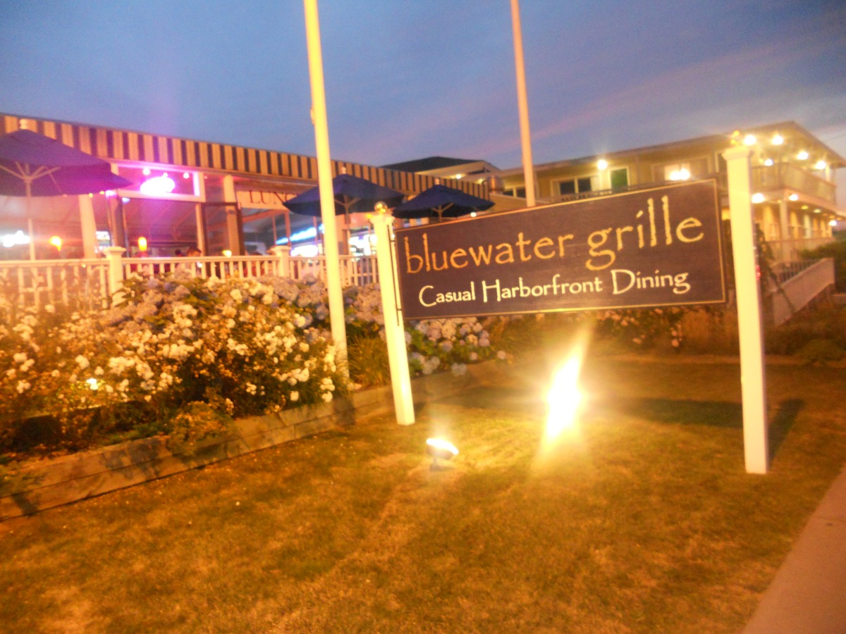 Cape Cod Vacation 2012:  Bluewater Grille