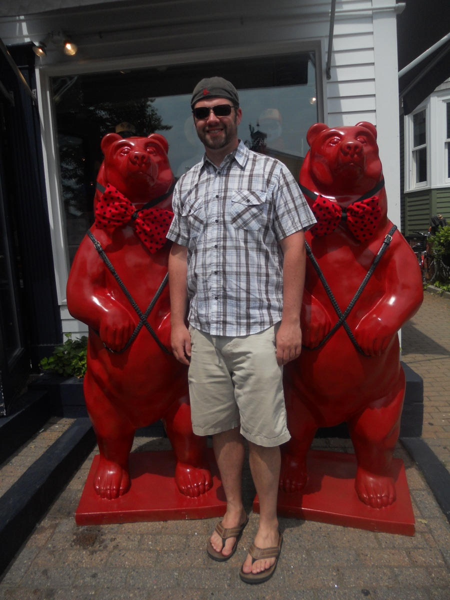 Cape Cod Vacation 2012:  Bear Week Provincetown