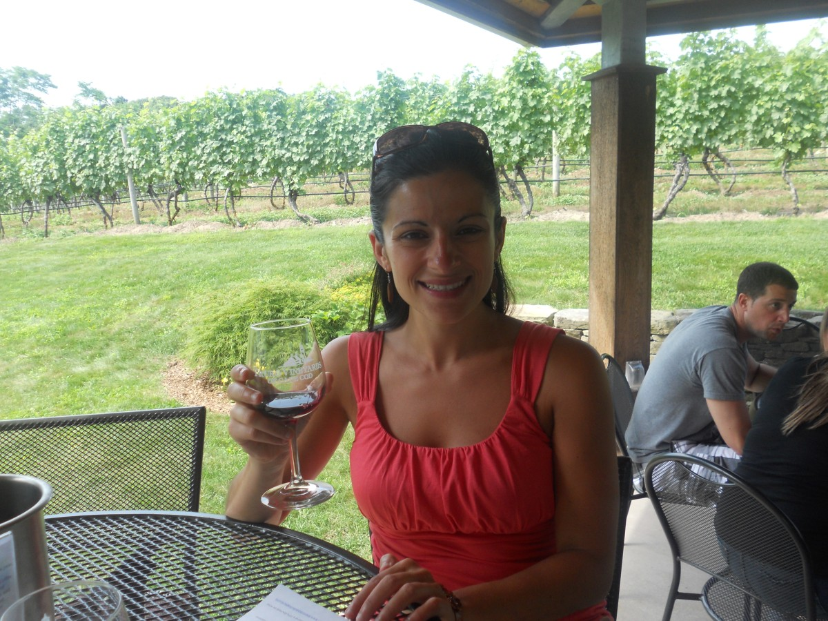 Cape Cod Vacation 2012:  Truro Vineyards