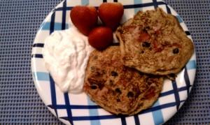 4th of July Patriotic Pancakes