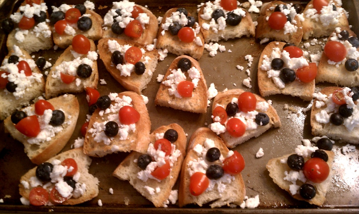 4th of July Bruschetta