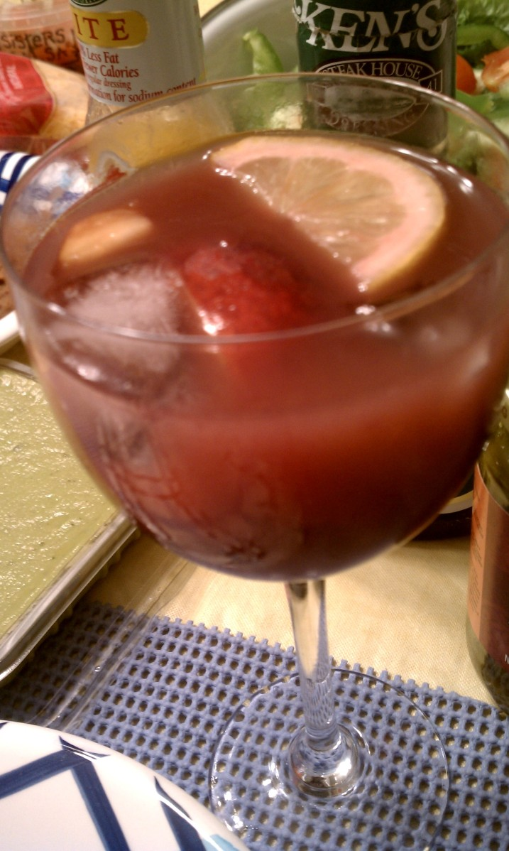 Cape Vacation 2012:  Sangria