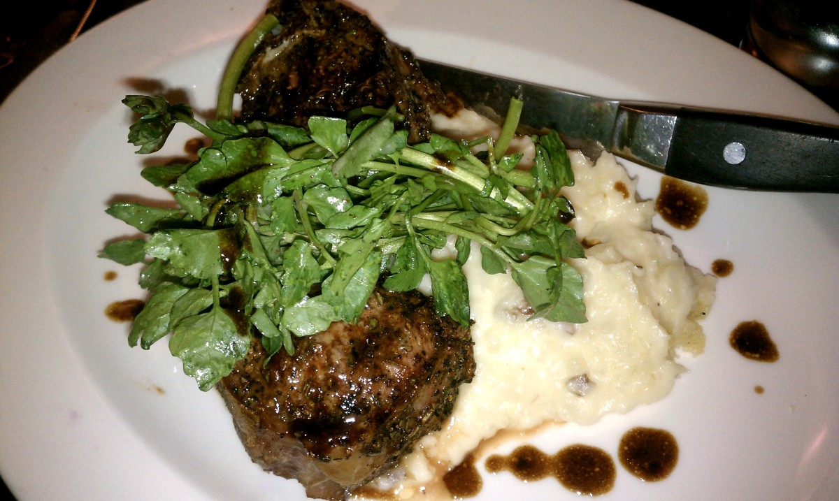B Street Restaurant Lamb Chop