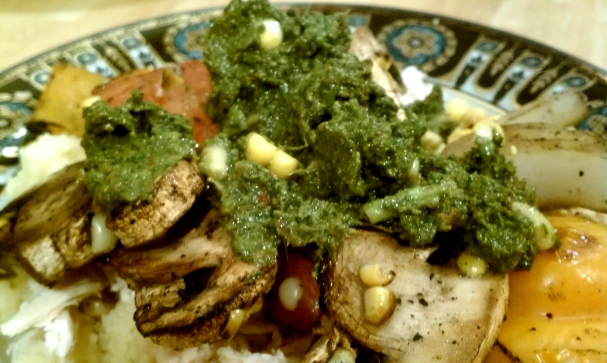 Pesto Chicken with Couscous