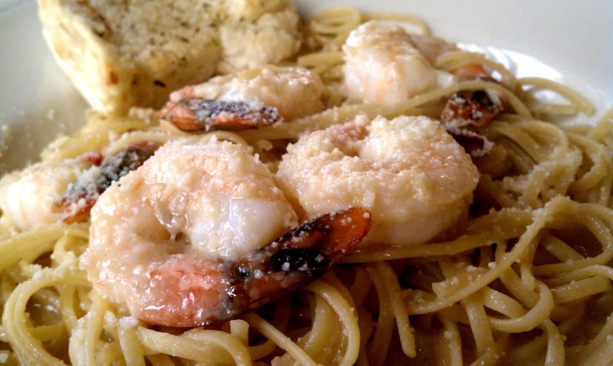 Fiorella's Express Shrimp Scampi