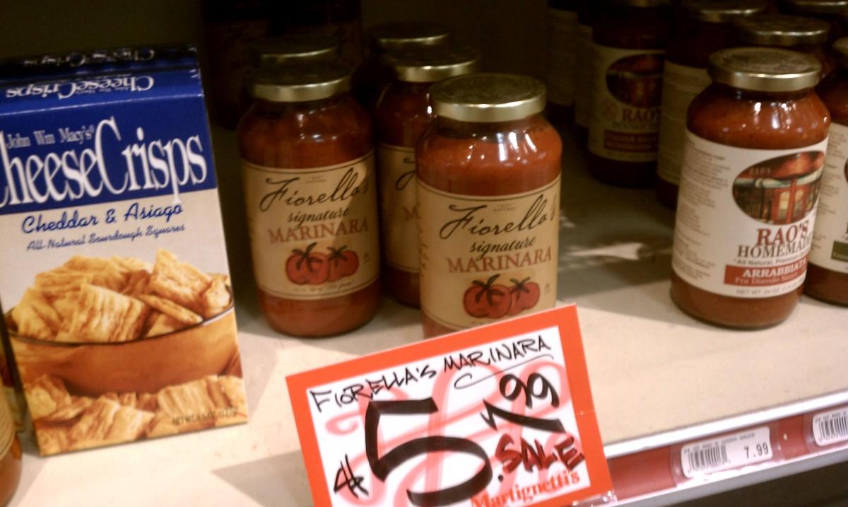 Fiorella's Marinara Sauce