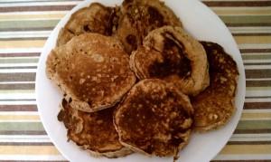 Whole Wheat Chia Seed Pancakes