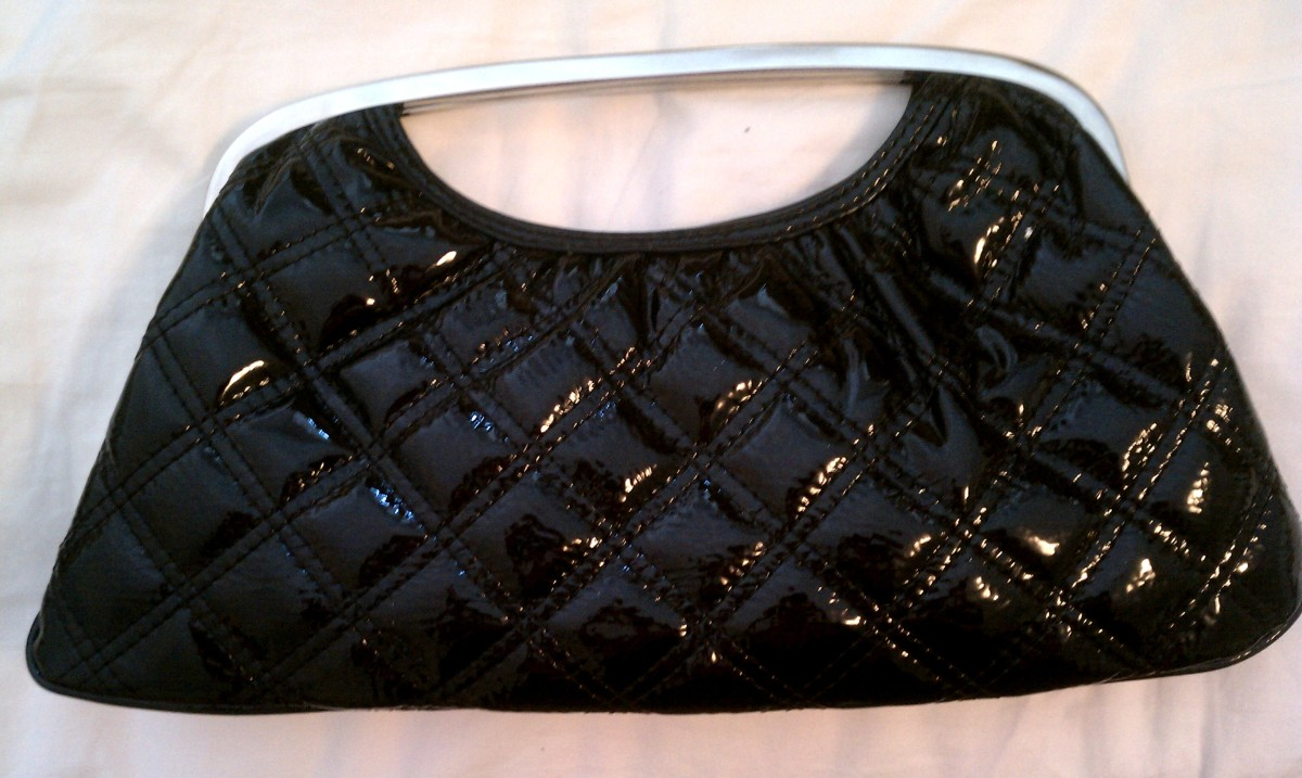 Black Express Clutch
