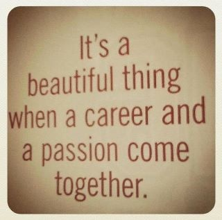 career and passion