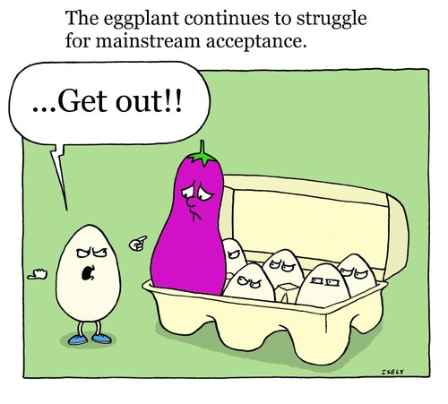 eggplant cartoon