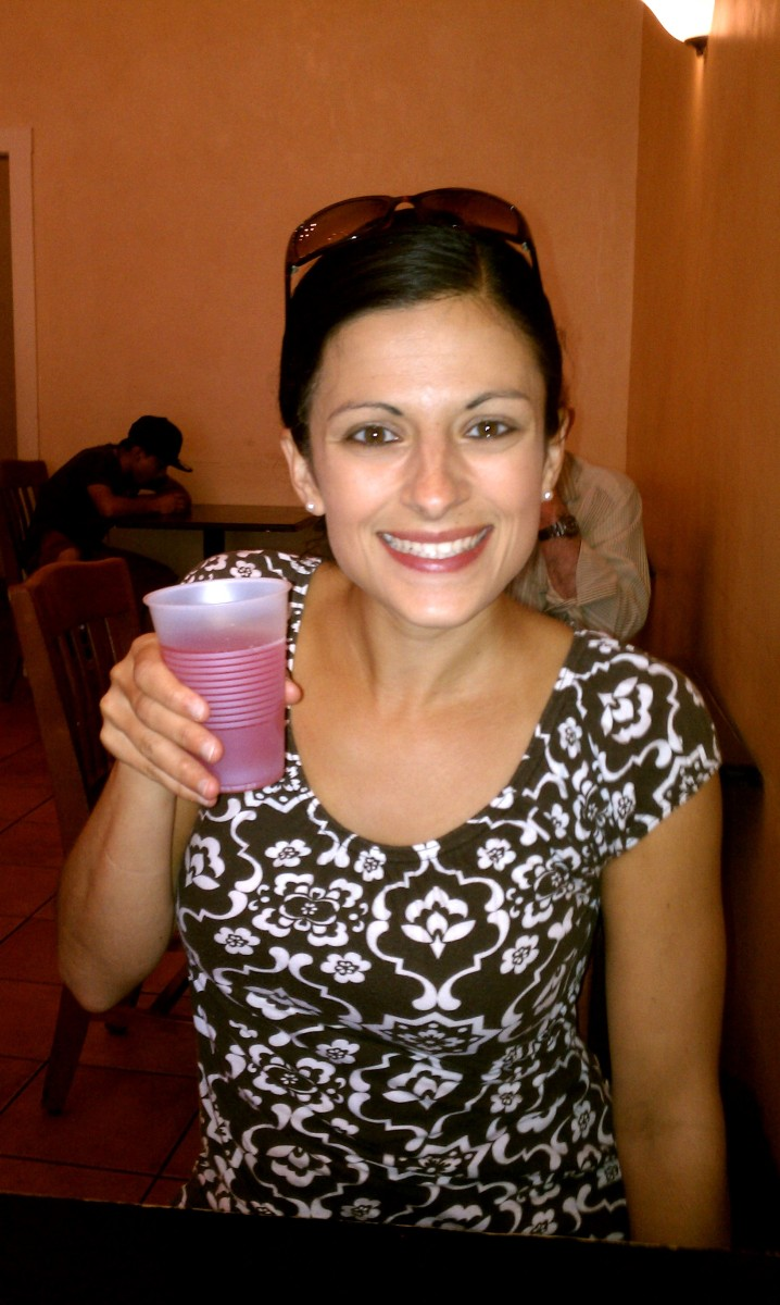 Anna's Taqueria - Sampling Drinks
