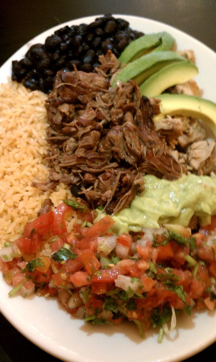 Anna's Taqueria - Mexican Plate