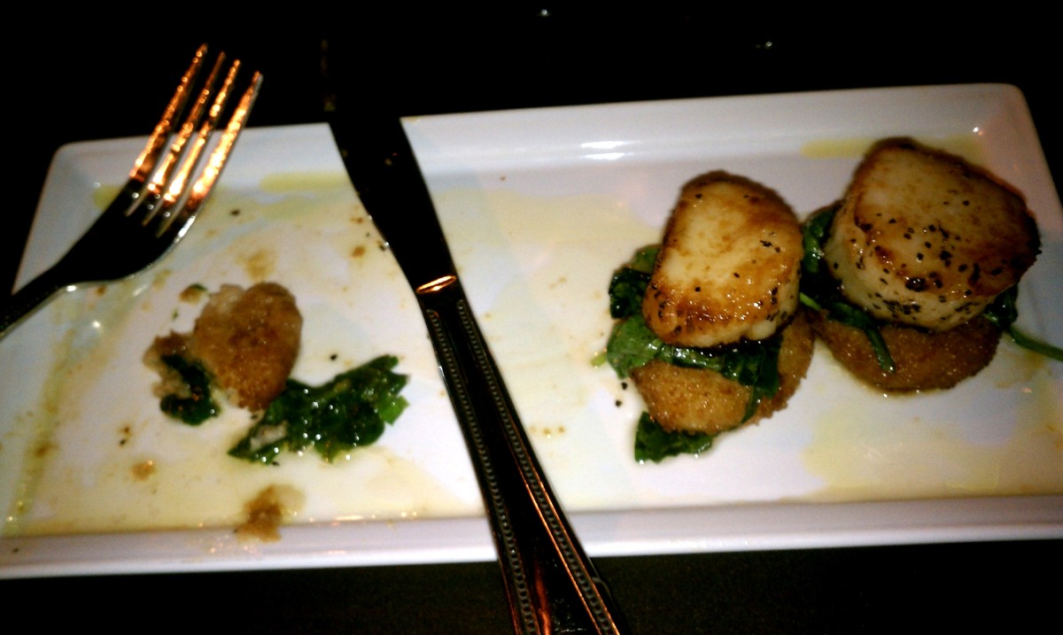 Sip Wine Bar & Kitchen - Scallops