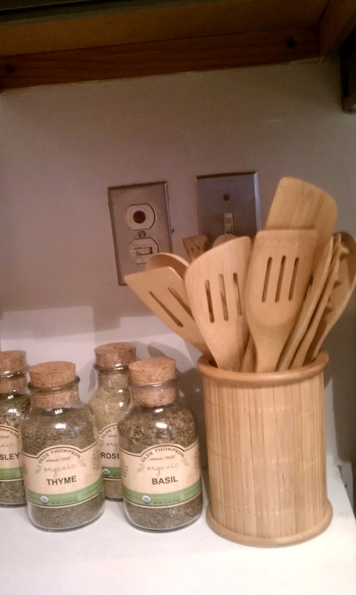 Core Bamboo 14 piece utensil set