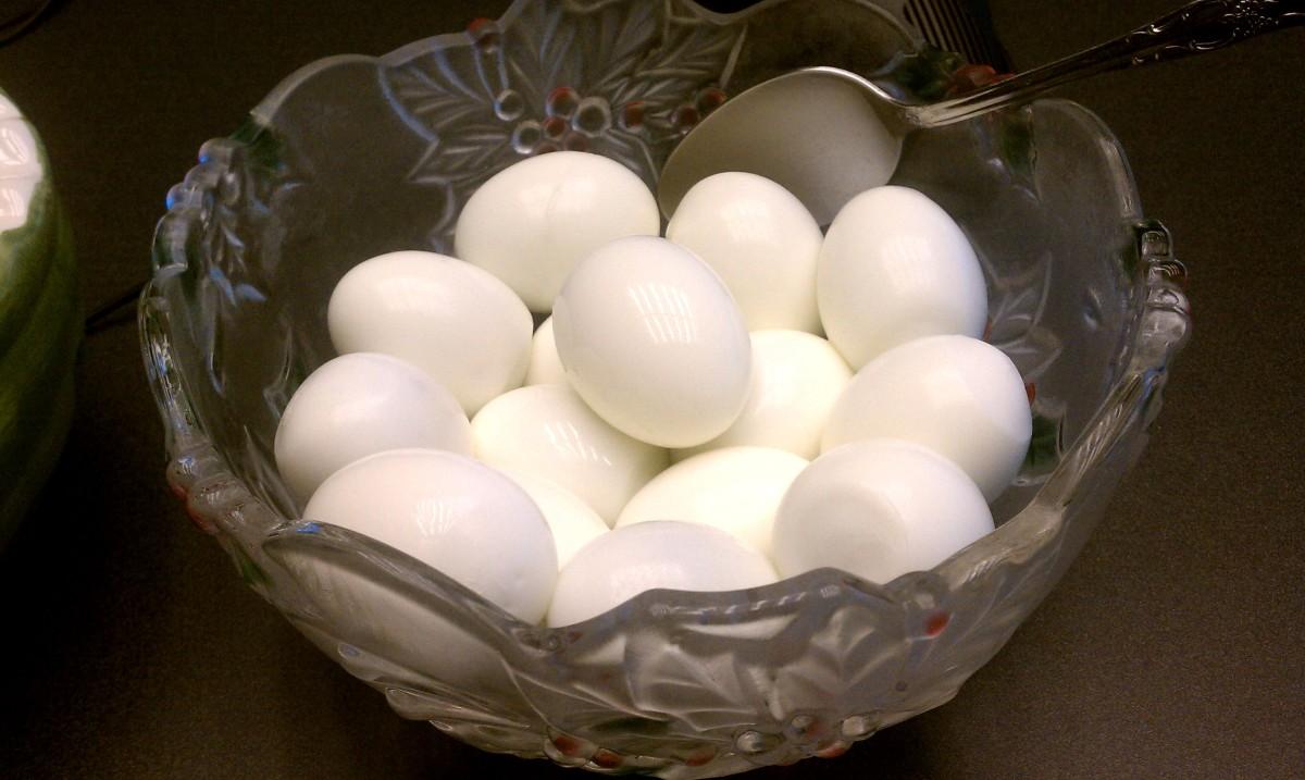 Salad Club:  Eggs