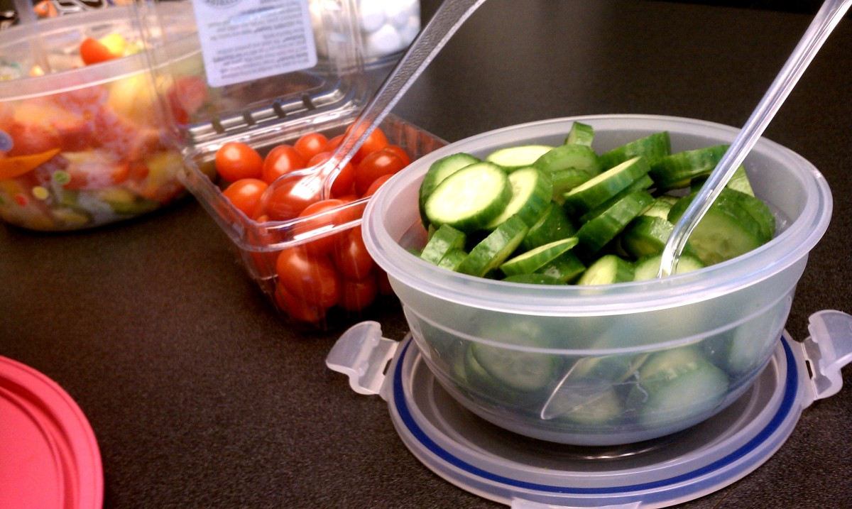 Salad Club:  Tomatoes & Cucumbers