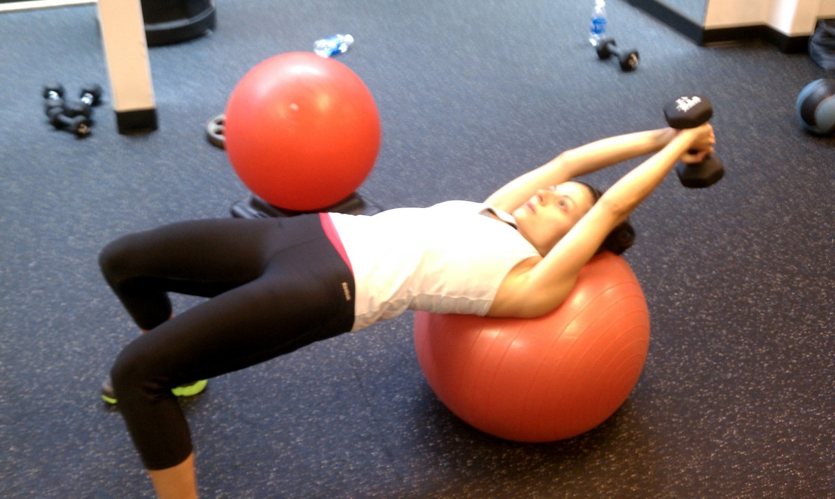 Move of the Week:  Dumbbell Pullovers