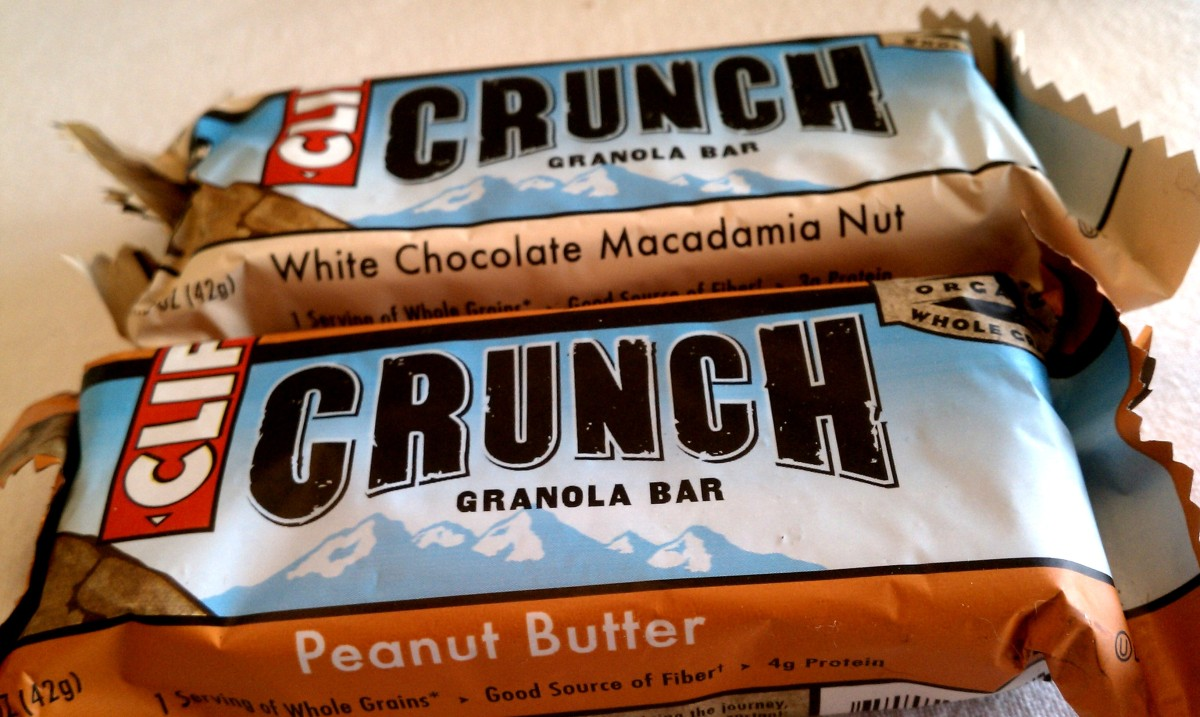 Foodie Penpals Clif Crunch Bars