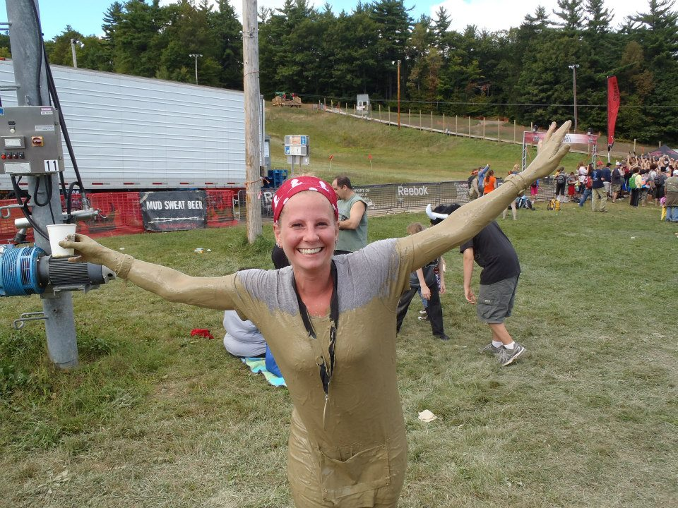 Warrior Dash - Mud Covered