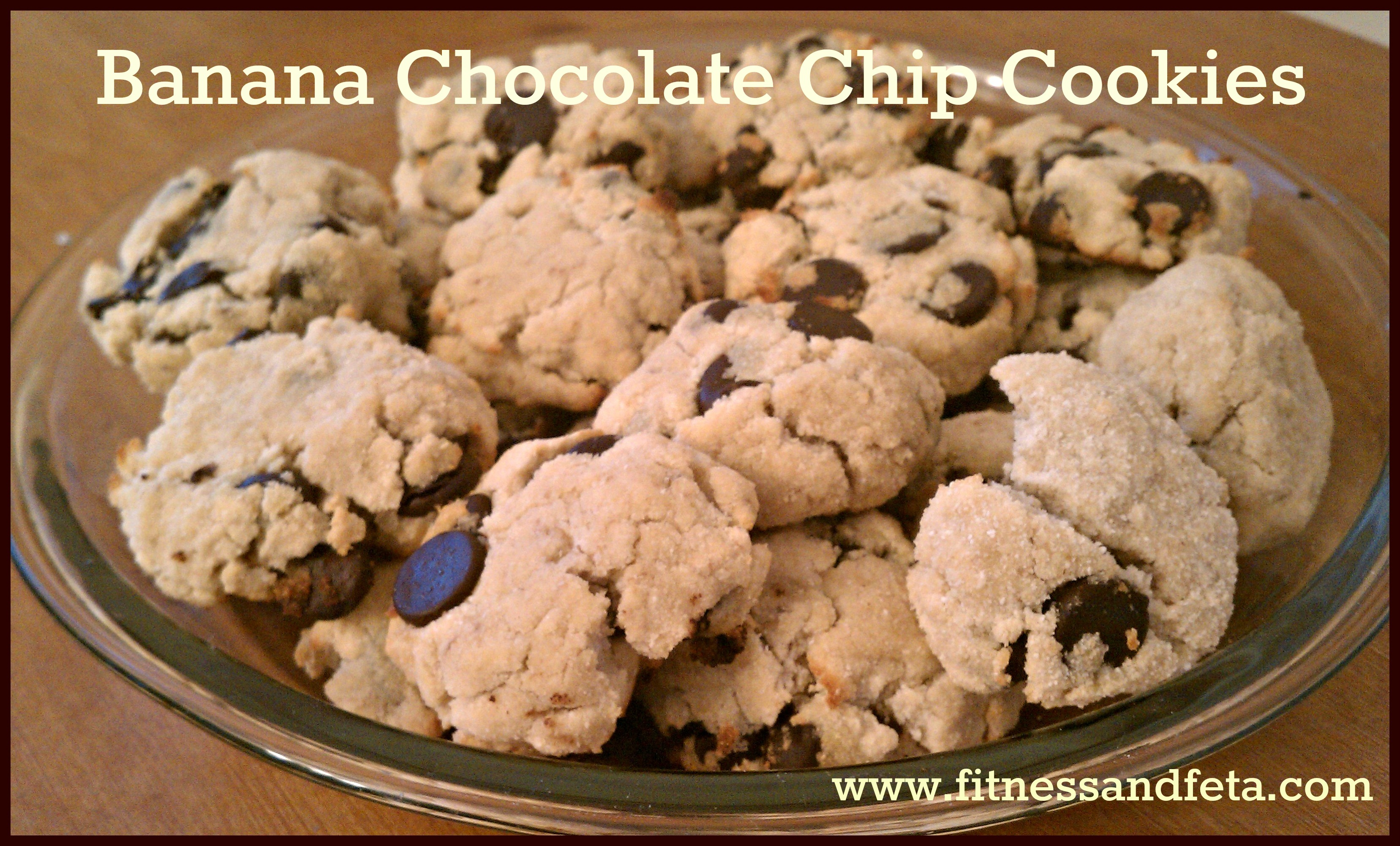 Banana Chocolate Chip Cookies and a Treadmill Workout   Fitness & Feta