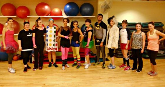 Halloween Group Ex Classes 2012