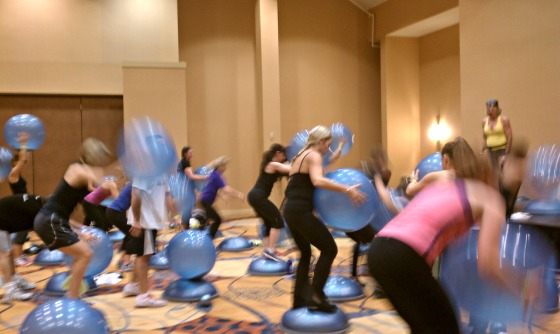 Boston Mania:  Bosu HIIT Extreme