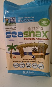 Foodie Penpal:  Sea Snax
